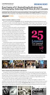 lessons i ve learned about photography life 25 lessons is asmp s 1 recommended summer read