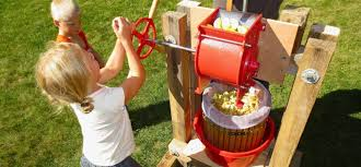 how to build a cider press and harvest apple juice
