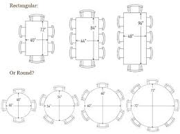 round table size for 6 incredible dining sizes simple small home design ideas 7