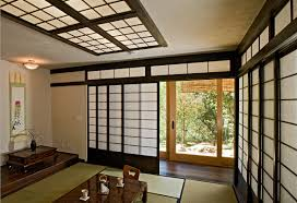 ceilings design with shoji screen room partition and tatami room decoration also sliding glass door