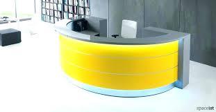half round desk half round desk furniture half round desk furniture white and yellow circle reception half round desk half round reception