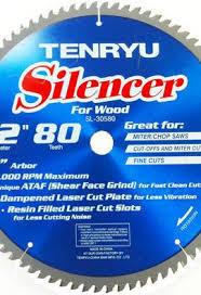 tenryu blades. tenryu sl-30580 12\u2033 saw blade blades