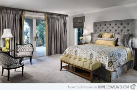 Fresh Yellow And Grey Bedrooms With Regard To Bedroom