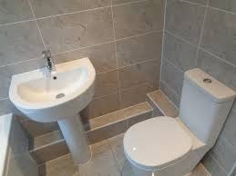 bathroom tiled walls. Shower Bath Bathroom Suite Fitted With Tiled Walls And Floor N
