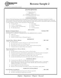 College Freshman Resume Examples Examples Of Resumes