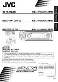 kd lh1100 jvc car in dash cd player receiver manual JVC Head Unit Wiring Diagram Jvc Kd Sr61 Wiring Diagram #28
