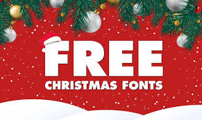 33 Free Christmas Fonts To Make Your Project Look Festive