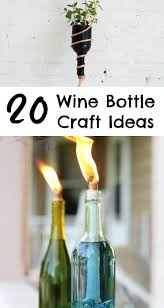 Wine Bottles Decoration Ideas 100 Wine Bottle Craft Ideas to Put Your Wine Bottles to Good Use 15