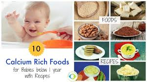 10 Calcium Rich Foods Recipes For Babies Below 1 Year