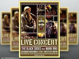 Concert Flyers Templates Concert Flyers Templates Live Flyer Template Home Improvement