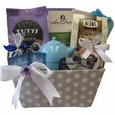 tea biscuits gift basket