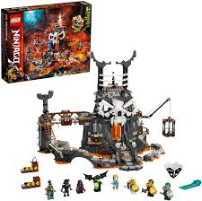 Amazon.com: LEGO NINJAGO Skull Sorcerer's Dungeons 71722 Dungeon Playset  Building Toy for Kids Featuring Buildable Figures, New 2020 (1,171 Pieces):  Toys & Games