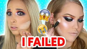 i tried following a nikkietutorials makeup tutorial mar
