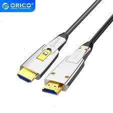 ORICO HDMI Sang HDMI/Cáp Micro HDMI 4K 60Hz 18Gbps 2 Trong 1 Chuyển Đổi Tự  Do HDMI2.0 dây Cáp Dành Cho Tivi Máy Chiếu Cho PC Laptop|Cáp HDMI