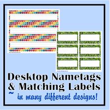 name tag for desk hostgarcia student desktop nameplates really good stuff