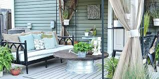 patio deck decorating ideas. Outdoor Patio Decorating Ideas Blog Before And After  Deck