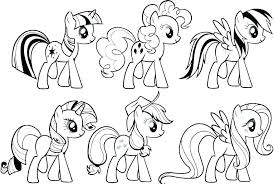 My Little Pony Free Coloring Pages Trustbanksurinamecom