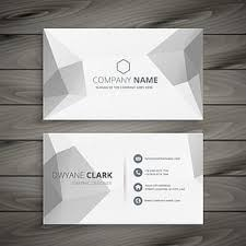 Free Download Simple Business Card Template Vector Design