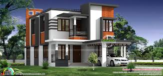 1800 sq ft nice modern house kerala home design and 1800