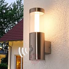 Motion Detector Led Outdoor Wall Lamp Ellie 9945012 39 Garden