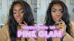 valentine s makeup tutorial look 1 trying out estee lauder double wear foundation deep amber