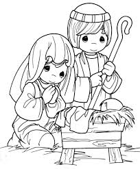nativity coloring sheet innovative nativity coloring pages free printable for kids best 259