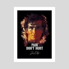 Roadhouse Quotes Adorable James Dalton The Road House Patrick Swayze An Art Print By