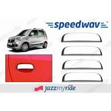 sdwav maruti wagon r chrome plated car door handle covers set of 4