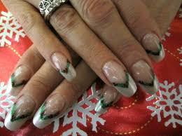 French Nail Art Designs 2014 French Nail Art Design Idea For Christmas Fashion