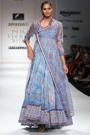 Female Set Designers Printed Anarkali And Jacket Set Designers