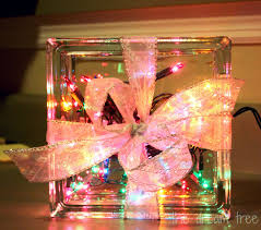 Glass Present Box Lights The Dream Tree Diy Sparkle Light Christmas Present