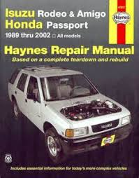 isuzu rodeo wiring diagram troubleshooting images rodeo 1998 isuzu rodeo manuals diy repair manuals