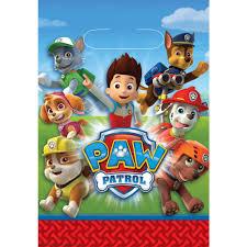 paw patrol party bags 8pk image