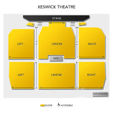 Keswick Seating Chart Keswick Theatre Seating Chart Theatre In Philly