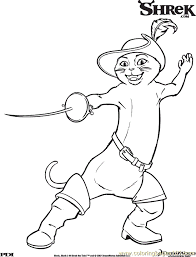 Small Picture Shrek3 19 Coloring Page Free Shrek Coloring Pages