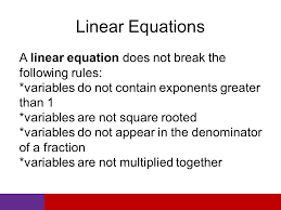 6 linear equations