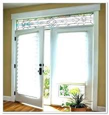 window treatments for doors with half glass back door window curtain sliding door window coverings ideas