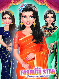 indian fashion star makeup and dressup 1 1 1 screenshot 2
