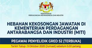 Adakah saya dibenarkan untuk rentas negeri untuk tujuan kerja/perniagaan? Jawatan Kosong Kementerian Perdagangan Antarabangsa Dan Industri Miti Kelayakan Terbuka