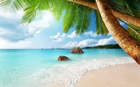 beautiful ocean beach 1920x1080