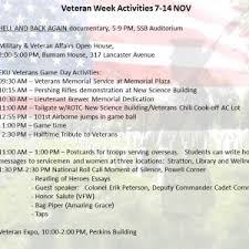 army rotc eastern kentucky university eku army rotc hosts weekend long veteran s day activities