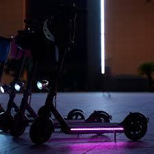 <b>Electric Scooter Durable Strip</b> Light Foldable LED Light-Up Colorful ...