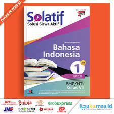 Perubahan dilakukan untuk memperbaiki atau menyempurnakan materi yang ada. Buku Solatif Bahasa Indonesia Smp Mts Kelas 7 Masmedia Shopee Indonesia