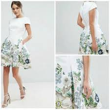mix and match wedding guest dresses and accessories you will want Wedding Guest Dresses Ted Baker yvetta skater dress by ted baker wedding guest Wedding Dresses De Charro