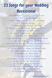 wedding recessional songs. 20 Modern Processional Songs That Cue All The Tears Wedding