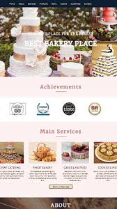 Bakery Websites Prime Bakery Website By Theme Orbit For Bakery And Cafe