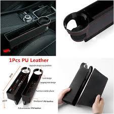 <b>1Pcs</b> PU Leather <b>Car</b> Seat Crevice Storage Box Gap Filler <b>Cup</b> ...