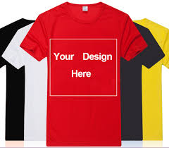 Personalized Tshirt Design Us 8 71 34 Off Customize Shirt Free Print Two Sides Custom Logo Personalized Tshirts Diy Your Text Design Here In T Shirts From Mens Clothing On