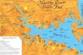 Magothy River Association Launches Online Water Trail Map