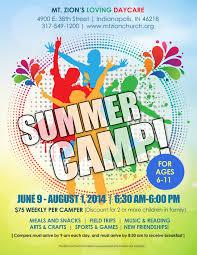Summer Camp Pamplets Summer Camp Flyer Idea Kid Min Camping Pamphlet Design Summer